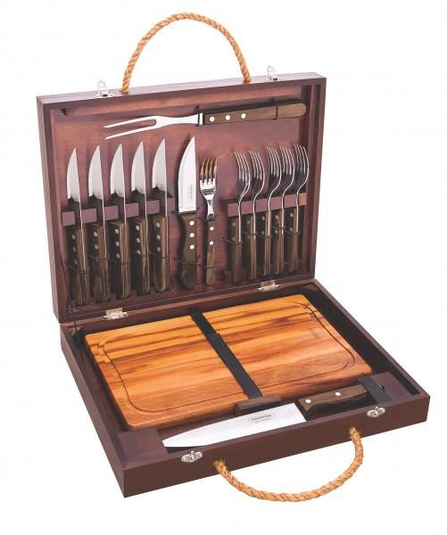 BBQ-Koffer-Set, 16-teilig