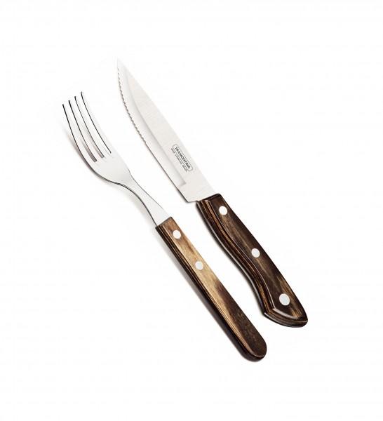 BUENO Steakbesteck-Set, 4-teilig