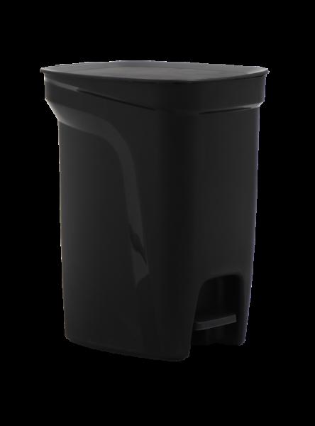 COMPACT Tretmülleimer, 10 Liter - schwarz