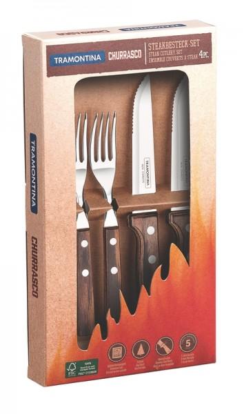 GAUCHO Steakbesteck, 4-teilig