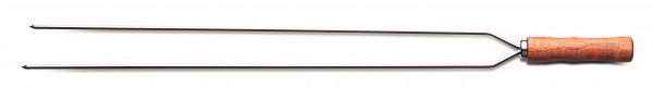 Grillspieß, 2-fach (Spießlänge 65 cm)