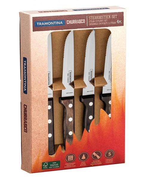 GAUCHO Steakmesser, 4-teilig