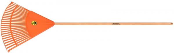 Kunststoff Laubbesen Maxi, 26 Zinken, Länge 168 cm
